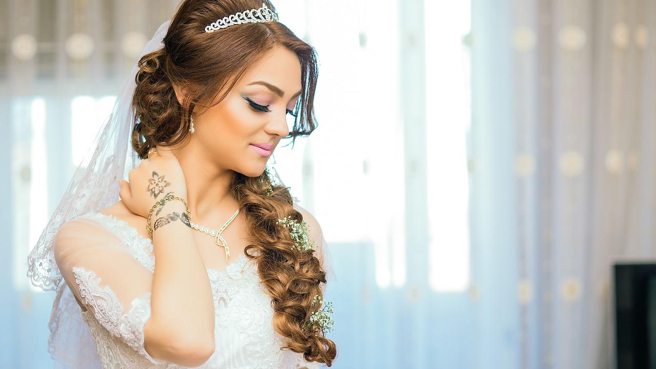 das richtige Braut Make-up